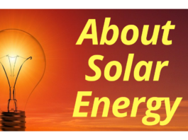 About Solar Energy