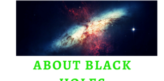 ABOUT BLACK HOLES